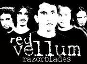Red Vellum Razorblades
